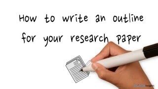 How To Write A Research Paper! 8 simple steps